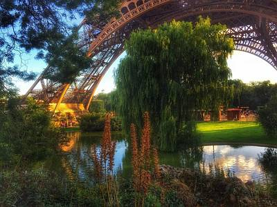 Eiffel Print by Marty Cobcroft