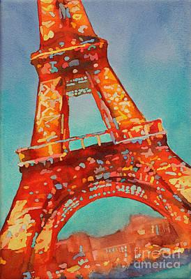 Eiffel Night- Paris Print by Ryan Fox