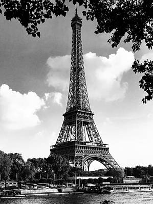 Photograph - Eiffel Tower by Contemporary Art
