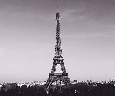 Eiffel Tower  Print by Mark Taylor