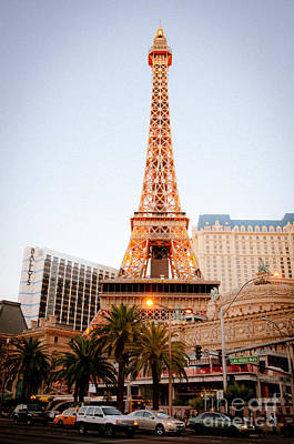 Eiffel Tower Nevada Print by Andy Smy