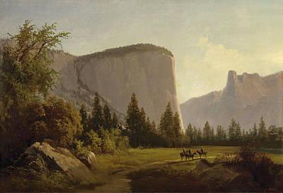 Thomas Hill Painting - El Capitan by Thomas Hill