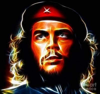 El Che Guevara Print by Pamela Johnson