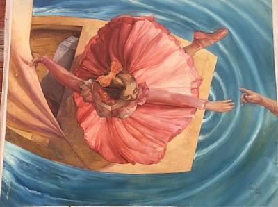 An Island Painting - La Catagraphia Del Suspiro by Alexis Pantoja