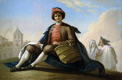 Ramon Bayeu Painting - El Muchacho De La Esportilla by Ramon Bayeu