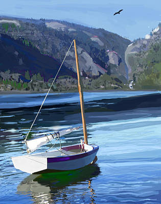 Lakefront Painting - El Toro by Brad Burns