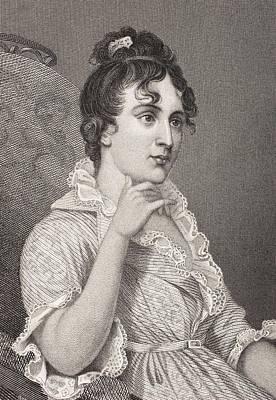 George Washington Drawing - Eleanor Parke Custis Lewis 1779 - 1852 by Vintage Design Pics