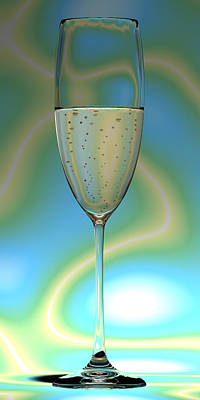 Electric Champagne Original by Nathan Ryan