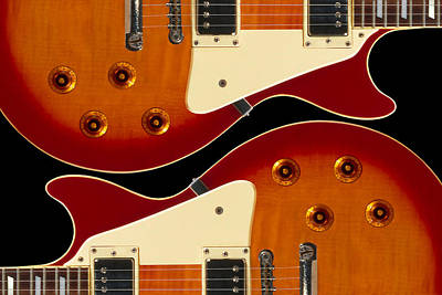 Electric Guitar II Print by Mike McGlothlen