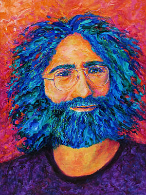 Electric Jerry Print by Julie Turner