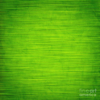 Web Photograph - Elegant Green Abstract Background by Michal Bednarek