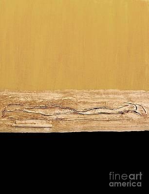Ptints Painting - Elegant Tones by Marsha Heiken