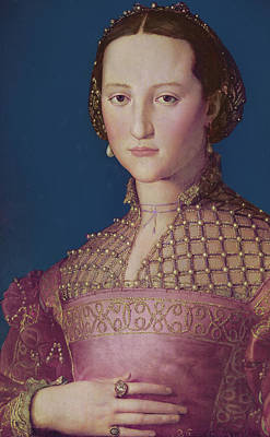 Eleonora Painting - Eleonora Da Toledo by Agnolo Bronzino