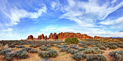 Pano Photograph - Elephant Butte by Chad Dutson