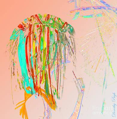 Elfin Aspiring To Be Human Print by Dorothy Pugh