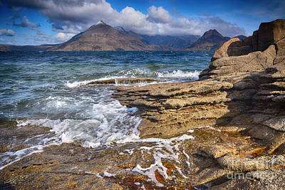 Loch Photograph - Elgol, Isle Of Skye by Stephen Smith