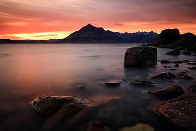 Elgol Photograph - Elgol Rocks by Grant Glendinning
