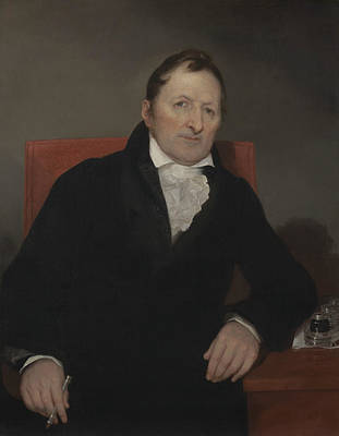 Inventor Painting - Eli Whitney by Samuel Morse