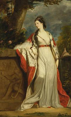 18th Century Painting - Elizabeth Gunning Duchess Of Hamilton And Argyll by Joshua Reynolds