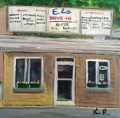 El's Drive In Original by Kimberly Balentine