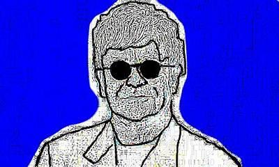 Elton John Mixed Media - Elton John by Matthew Jope