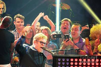 Elton John Million Dollar Piano Original by Allen Meyer