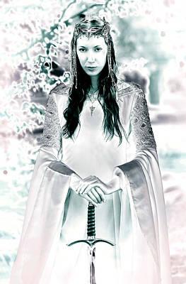 Arwen Photograph - Elven Princess by Dean Bertoncelj