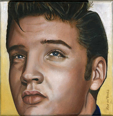 Elvis 24 1954 Original by Rob De Vries