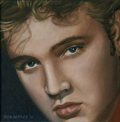 Elvis 24 1955 Original by Rob De Vries