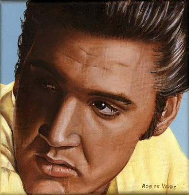 Elvis 24 1956 Original by Rob De Vries