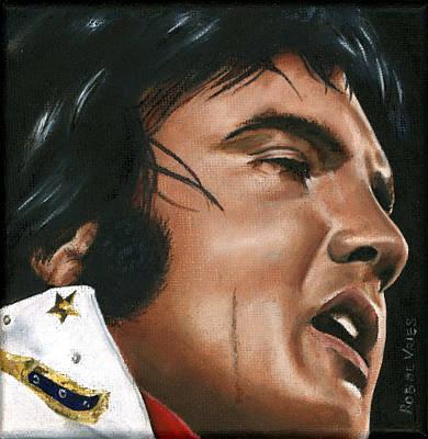 Elvis 24 1974 Print by Rob De Vries
