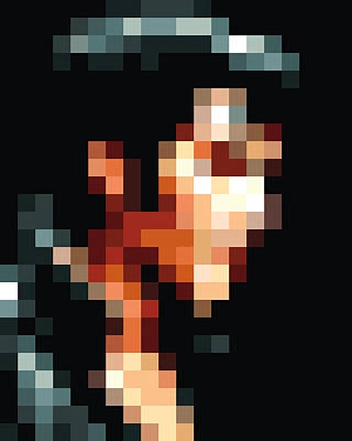 Elvis Aaron Presley Digital Art - Elvis Presley Pixelface #2 by Pixel Face