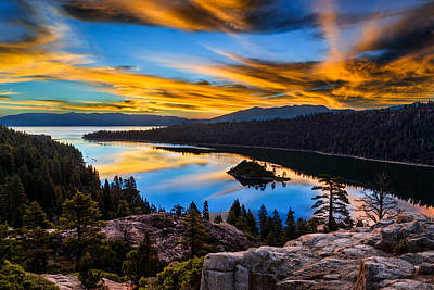 Photograph - Emerald Bay by Doug Oglesby