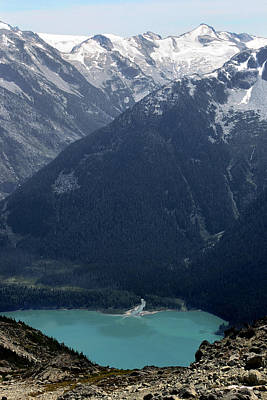 Emerald Cheakamus Lake Whistler Canada Print by Pierre Leclerc Photography