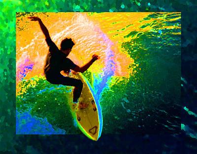 Slash Digital Art - Emerald Dream by Ron Regalado