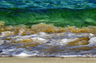Surfing Photograph - Emerald Sea by Stelios Kleanthous