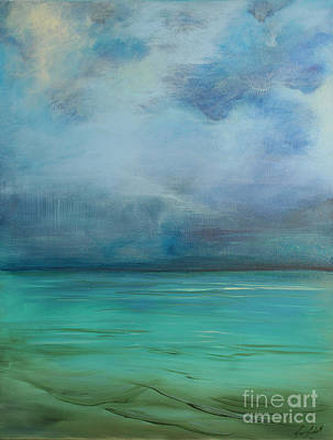 Emerald Waters Print by Michele Hollister - for Nancy Asbell