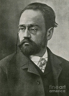 Emile Zola, French Author Print by Photo Researchers