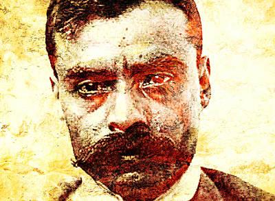 Emiliano Zapata Print by Jose Espinoza