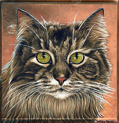 Pet Painting - Emma II by Cara Bevan