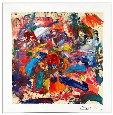 Painting - Emotion In Motion by Mac Worthington