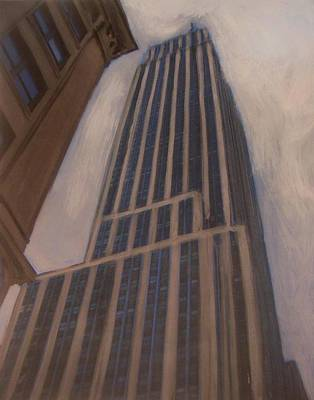 Empire State Building 1 Original by Anita Burgermeister