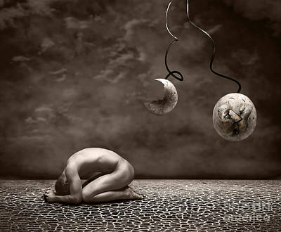 Surrealism Digital Art - Emptiness by Jacky Gerritsen