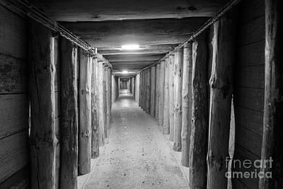 Krakow Photograph - Empty Corridor by Juli Scalzi