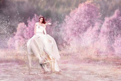 Digital Art - Enchanted  by Pamela Hagedoorn