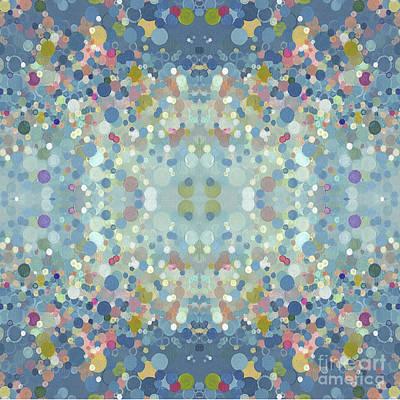 Juul Painting - Enchanting Mandala by Margaret Juul
