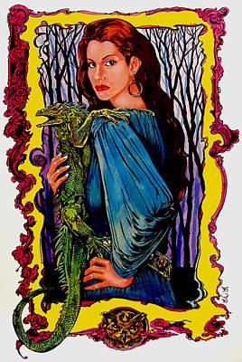 Enchantress Original by Derrick Higgins