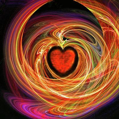Encompassing  Love Print by Michael Durst