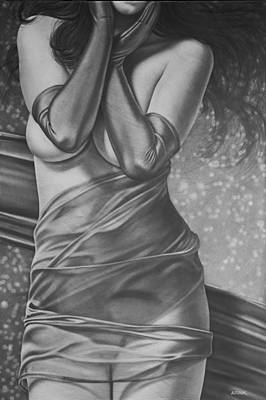 Painting - Encore In Shades Of Gray by AD Cook