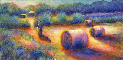 Czech Republic Painting - End Of A Well Spent Day by Retta Stephenson
